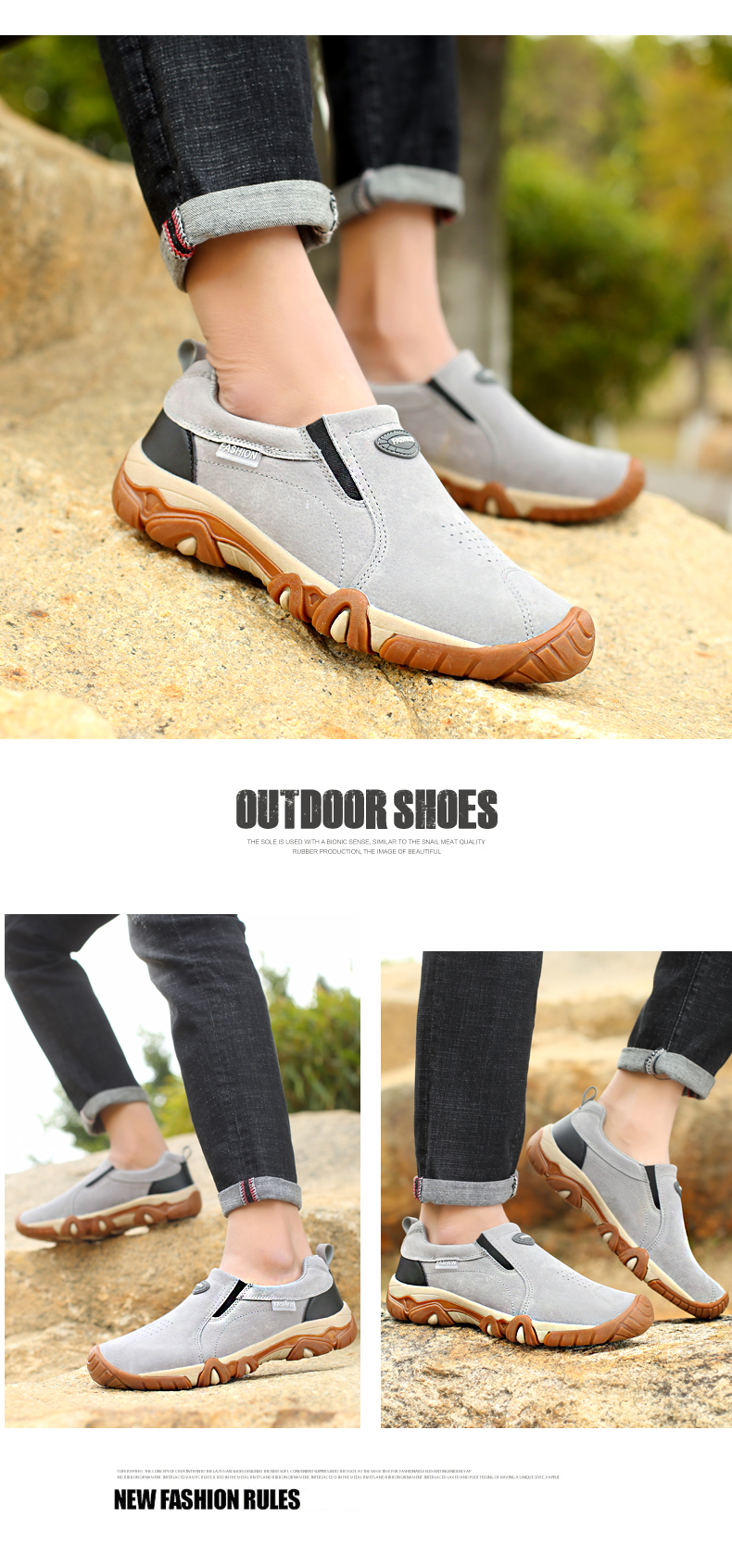 HTB1ByRHaPzuK1Rjy0Fpq6yEpFXa7 SHANTA 2019 New Men Shoes Leather Loafers Breathable Spring Autumn Casual Shoes Outdoor Non Slip Men Sneakers