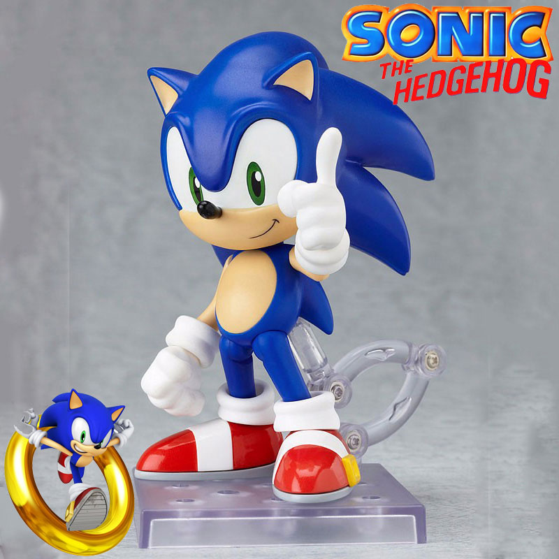 Collection Sonic The Hedgehog Action Figure Toys Set 4