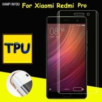 Full Coverage Clear Soft TPU Film Screen Protector For Xiaomi Redmi Pro 5.5