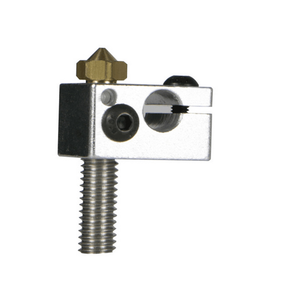 JGAURORA 3D Printer Nozzle Suit, Nozzle, Throat With Heated Block For A5S/A5