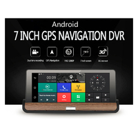 Newst Android 7 Touch Screen CAR DVR Dual Lens Camera Rear View Car Camera Full Hd
