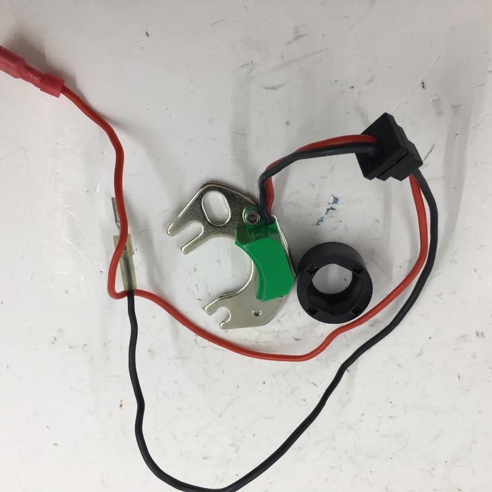 SherryBerg in forma Elettronica Kit di Conversione Sostituisce Punti in 4-cyl Hitachi Distributore di Accensione per nissan Datsun distirbutor