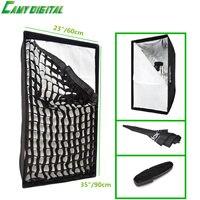 Umbrella Softbox Godox Convenient Rectangular Softbox 23 X35 60 90cm With Gird Umbrella Reflector For Speedlite