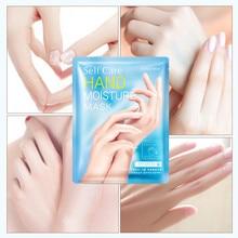 Milk moisturizing hand mask Moisturizing hand Patch remove d