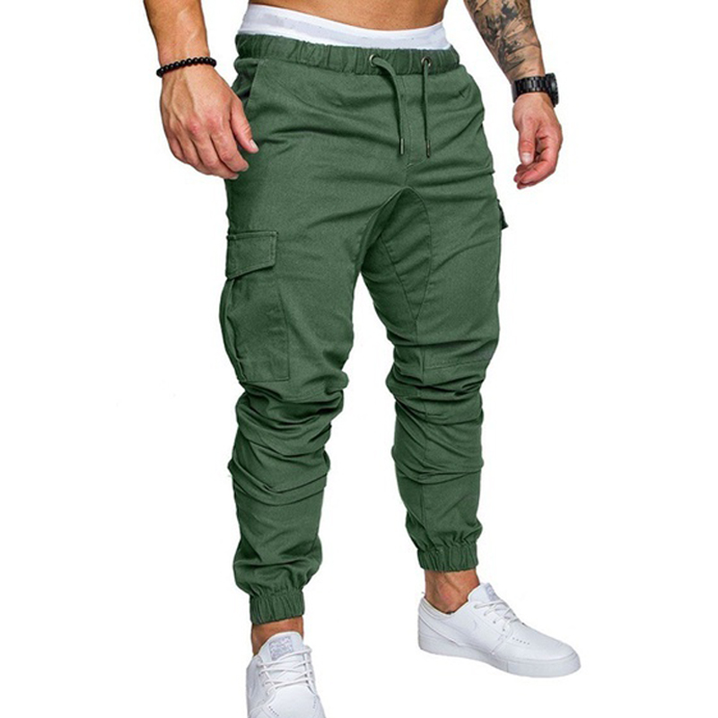 ZOGAA Men's Sport Pant Joggers Hip Hop Jogging Fitness Pants Casual Trousers Sweatpants M-3XL 6 Colors Men Pants Outwear