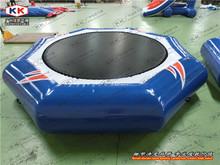 Inflatable floating Bed Jumping Water Trampoline