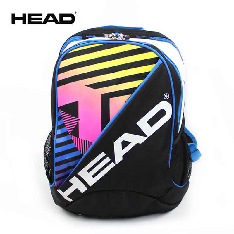 Original Children HEAD Tennis Racket Bag Also For Badminton Rackets Kids Backpack 1-2 Rackets Professional