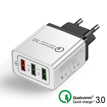 CAFELE Universal 18W USB Quick charge 3.0 5V 3A for Iphone EU Plug Mobile
