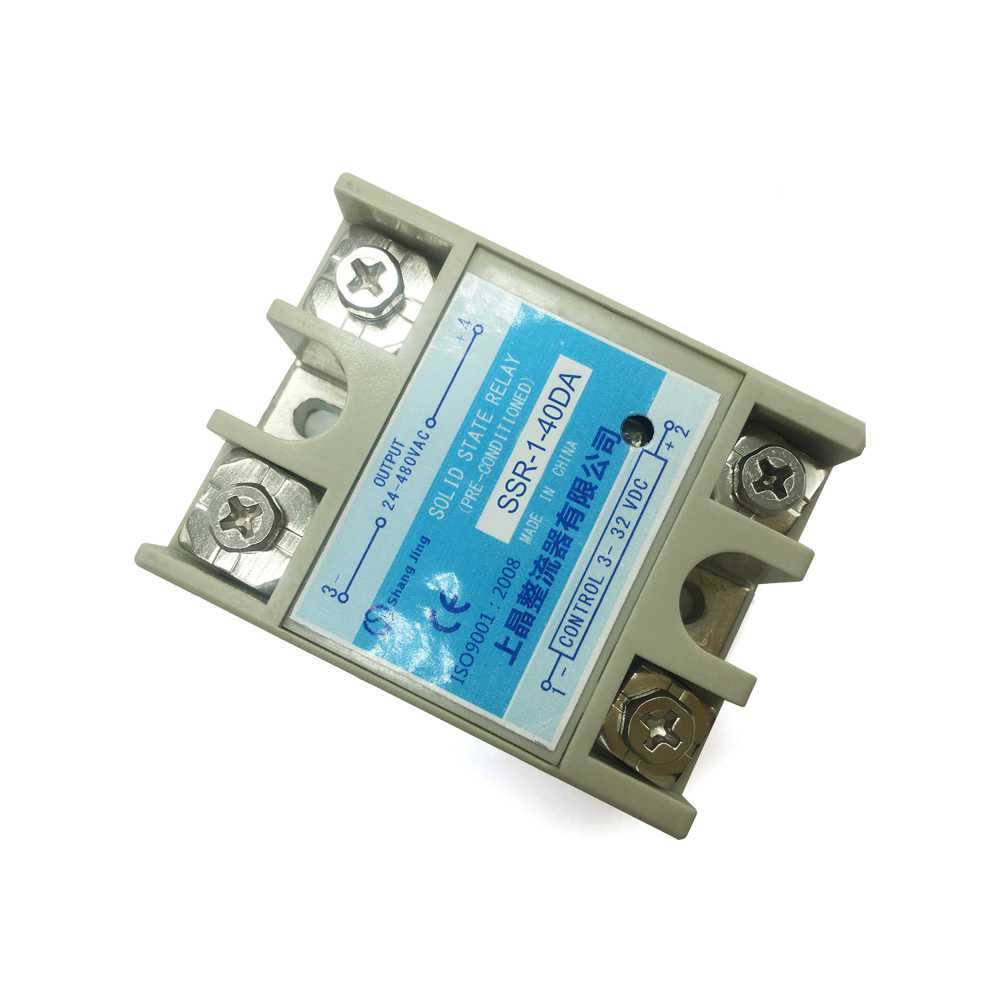 industry solid state relay SSR CE approval contactless switch function current 10-40A molybdenum chip aluminum plate DC-AC new