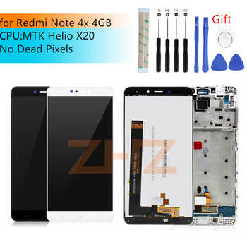 for Xiaomi Redmi Note 4X MTK helios 4GB lcd display Touch Screen Digitizer assembly with Frame Note4X Pro spear repair parts - DISCOUNT ITEM  10% OFF All Category