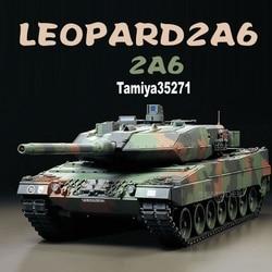 Kit d'assemblage avec modèle d'échelle 1:35, char de combat principal allemand LEOPARD 2A6, kits de construction, Collection Tamiya 35271