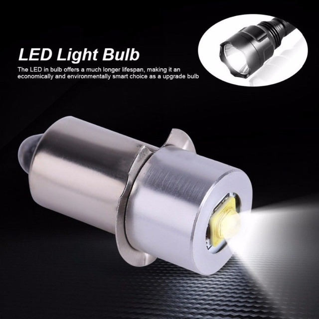 Nieuw 18V Led Flashlight Bulb LED Upgrade Bulb for Ryobi Milwaukee QO-07