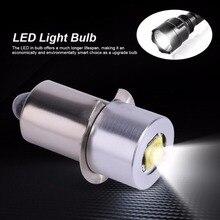 18v led lanterna lâmpada led lâmpada de atualização para ryobi milwaukee craftsman lâmpada maglite lanterna dc substituição bulbos 3v 4 12v