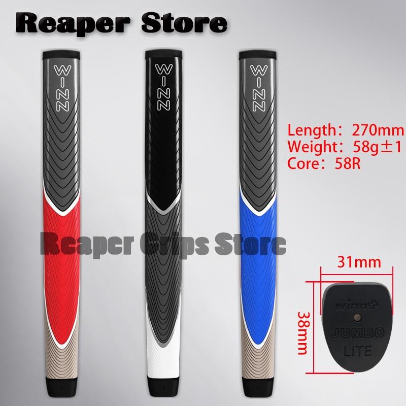 NOVO tamanho jumbo putter WINN grip Super light factory outlet qualidade Superior Apertos Do Clube de Golfe Putter Grips Atacado