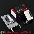 100% Оригинал Kangertech CUPTI 75 Вт TC AIO Комплект с 5 мл Распылитель 1.5ohm SS316L CLOCC CORE Cupti Kanger комплект
