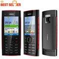 Оригинальный X2 Оригинал Nokia X2-00 Bluetooth FM JAVA 5MP Разблокированным Мобильных Телефонов Бесплатная Доставка
