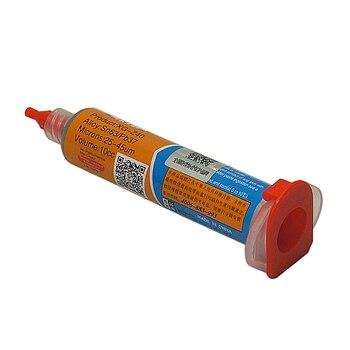 цена на 10cc Needle Shaped Xg z40 Solder Paste Flux Sn63 Pb37 25 to 45um Syringe to Mobile Phone BGA Repairing
