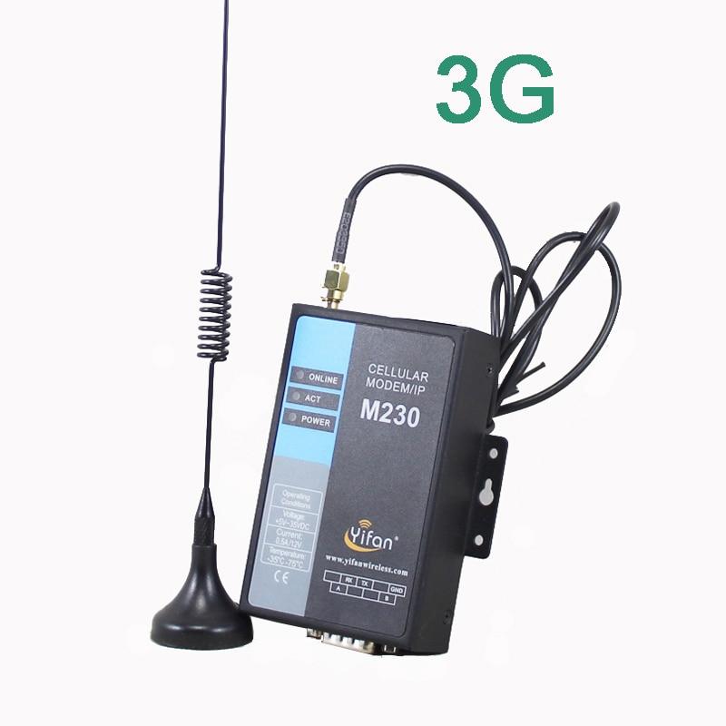 M230-H UTMS/HSDPA/HSUPA 3G RS232 RS485 modem DTU for AMR SCADA футболка спортивная wilson wilson wi002emham49