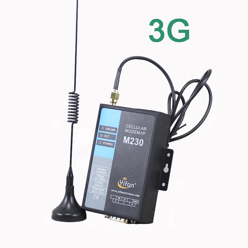 M230-H UTMS/HSDPA/HSUPA 3G RS232 RS485 módem DTU para AMR SCADA ¡Gran venta! 1800Mhz 4G celular amplificador DCS LTE 1800 red 4G amplificador de señal móvil 1800 2g 4g repetidor gsm 2g 3g 4g Booseter