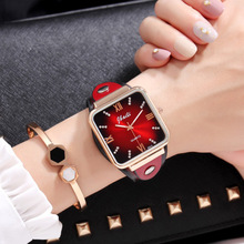 Zegarek damski Jbaili women watches luxury dress dial leather band quartz wrist watch womens ladies clock relogio feminino
