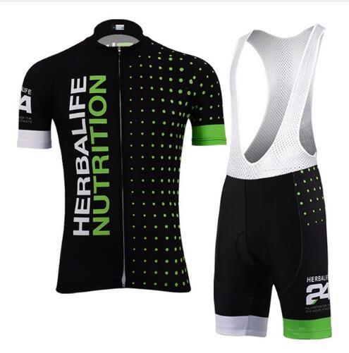 9ab60d266 NEW 2019 men Bike Team Pro Cycling Herbalife Jersey Breathable Gel Pad top  Herbalife short sleeve