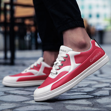 2018 New Spring/autumn Air Permeable Sneaker Korean Version of Trend Shoes Young Student Leisure Male Size 38-44 Dd1