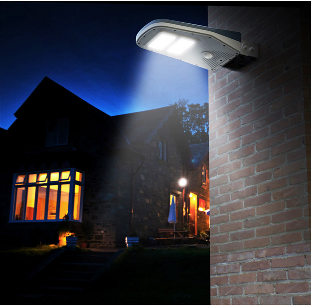 New 30 Led Solar Light Ip65 Waterproof Wide Angle Security Motion Have Replaced An Outside Pir Twin Lights Sensor With Remote Control Activated For Patio Garden In Lamps From