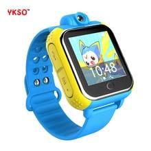 YKSO Com cartão SIM relógio Inteligente tela de 1.54 polegada GPS watch Q730 dispositivos wearable Com cartão nano Câmera Inteligente para crianças relógio