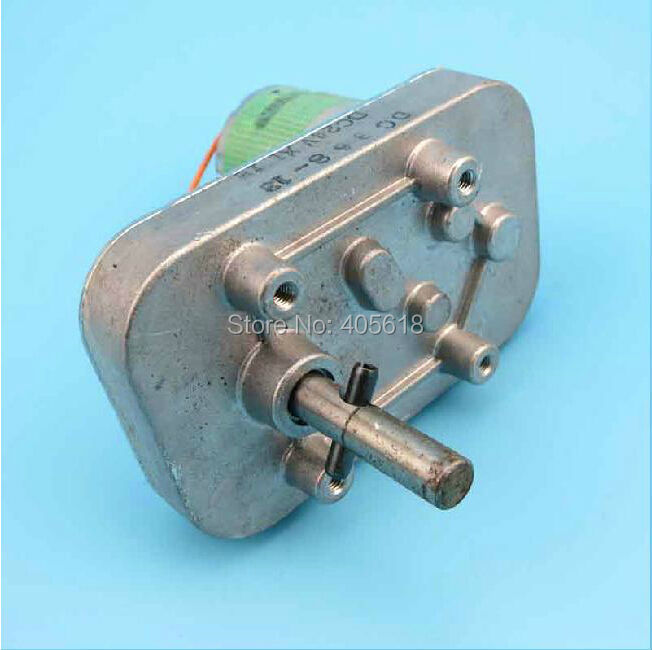 Micro 37MM DC 5V 12V 24V 134RPM Large Torque Electric Metal Gear Motor GearBox