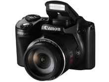 USED CANON Digital CAMERA POWER_SHOT SX510 HS 12.1MP WIFI IS 30x Optical Zoom + 8GB Memory Card