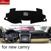 Dashboard Mat Protective Pad Shade Cushion Photophobism Pad Car Styling Accessories For Toyota Camry 2006 2017