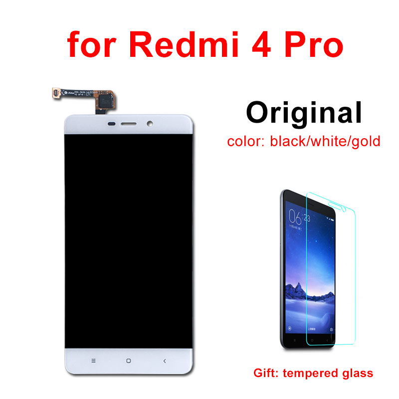 Original LCD for Redmi 4 Pro LCD Display with Frame Touch Screen Digitizer Assembly Replacement for Xiaomi Redmi 4 Pro LCD-in Mobile Phone LCD Screens from Cellphones & Telecommunications