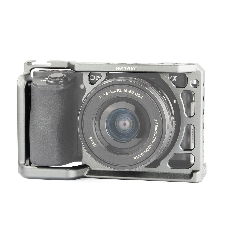 WARAXE A6 Camera Cage for Sony ILCE-6000/ILCE-6300/ILCE-A650