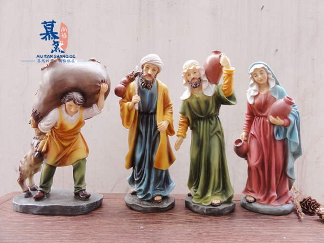 bible character figurines us $. % off|pc/set resin crafts jesus bible story characters scenes  christmas ornaments scenery decorations gifts|figurines & miniatures| | -