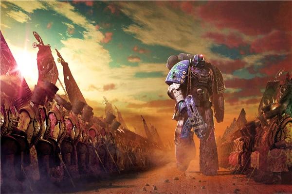Custom Canvas Art Warhammer 40000 Poster Warhammer 40K ...
