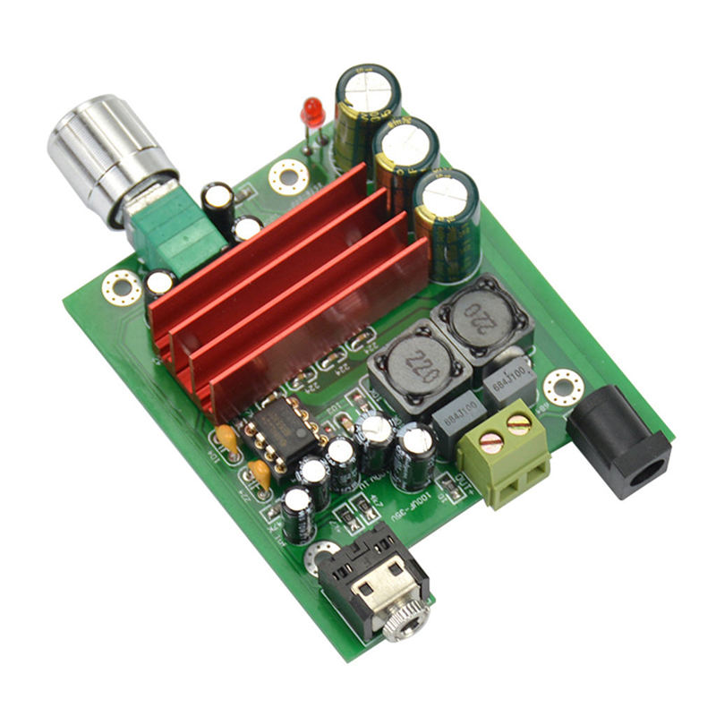 Tpa3116D2 Subwoofer Digital Power Amplifier Board Tpa3116 Amplifiers 100W Audio Module Ne5532 Op Amp 8-25V
