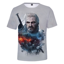 The Witcher Game O-Neck T-Shirt