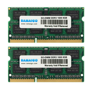 Image 1 - DDR3 RAM DDR3L 4GB 8GB 16GB 1600MHz 1333MHZ 1.5V PC3L 12800 204Pin 1.35V CL11 SODIMM dizüstü Ram bellek iMac tüm dizüstü bilgisayar