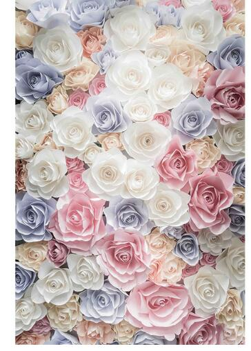 Flower Wall Paper Yeterwpartco