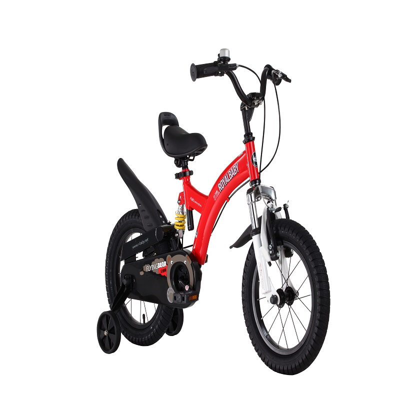 Royalbaby flying bear fork and frame suspension kid's bike,red yellow color,childred's best present детский велосипед для мальчиков capella flying bear b 14 red