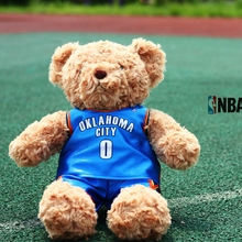 Toys Hobbies - Stuffed Animals  - 30CM Cute Lovely National Basketball Associatio Super Stars Stuffed Plush Teddy Bear Gift For Fans