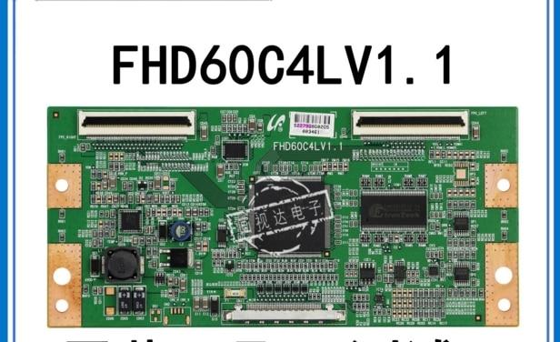 LCD Board FHD60C4LV1.1 Logic board FOR connect with LA40B530P7R LTF400HA08 T-CON connect board