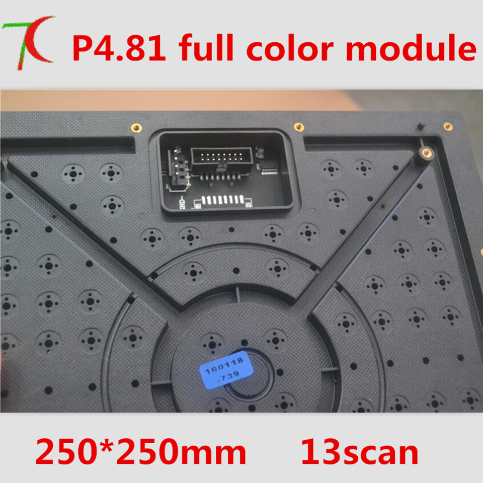 Cheapest P4.81 Indoor 16scan Full Color 250*250mm Led Board Use Smd2121 Lamps Use For Rental Business Led Screen,1200cd
