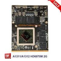 HD 6970M HD6970 HD6970m 2GB VGA Video Karte Für Apple iMac 27 mid 2011 AMD Radeon A1312 661-5969 109-C29657-10 Vollständig Getestet