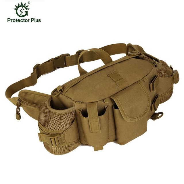 2016 Paquete de La Cintura Molle Militar Bolsa Impermeable Bolso de La Cintura del Paquete de Fanny CORREA Subir Bum bolsa de Equipo Militar X57