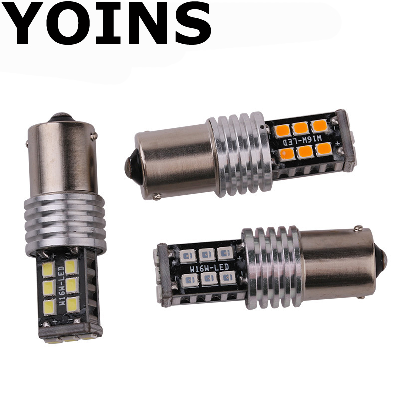 10x 1156 BA15S Canbus 2835 15 SMD 15 <font><b>LED</b></font> <font><b>P21W</b></font> <font><b>Led</b></font> <font><b>NO</b></font> <font><b>Error</b></font> Turn Signal Light Brake Light 12V White image