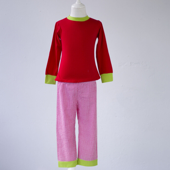 3496c3633d Facotry barato al por mayor a cuadros ropa de bebé de moda pijamas ropa de  bebé Navidad caliente estilo invierno Año nuevo ropa de dormir