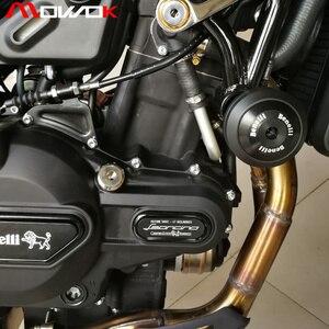 Image 5 - אופנוע אביזרי נופל הגנת התרסקות מגן מסגרת Slider עבור בנלי leoncino 500 Leoncino 500