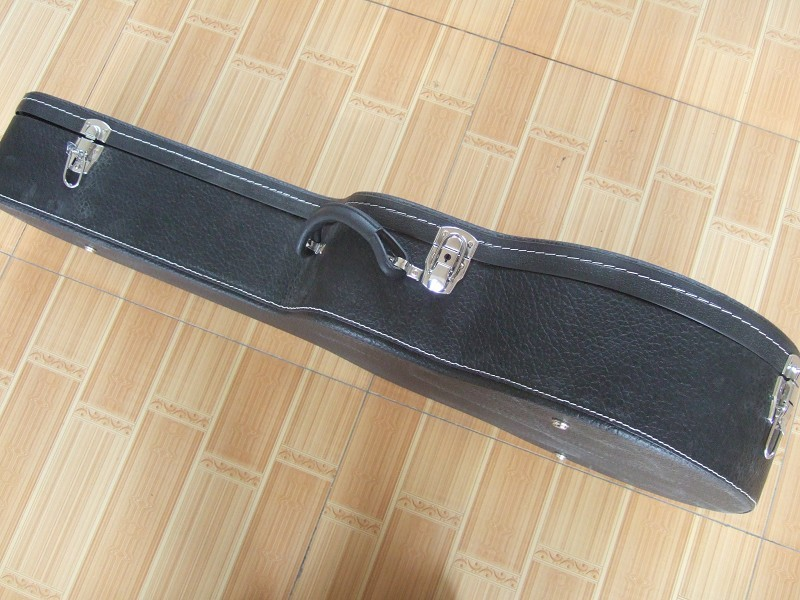 Black Guitar Hard Case for 41 43 Acoustic ( Electric ) Guiatr ***Not sold Separately