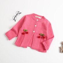1e473782b Buy cherry sweater girls and get free shipping on AliExpress.com